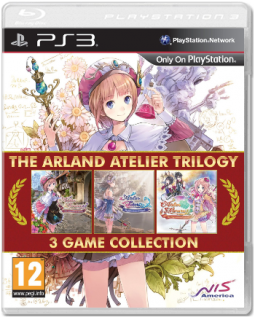 Диск Arland Atelier Trilogy [PS3]