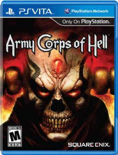 Диск Army Corps of Hell (US) (Б/У) [PS Vita]