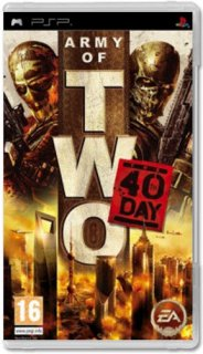 Диск Army of Two: The 40th Day [PSP]