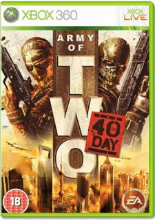 Диск Army of two: The 40th day [Xbox 360]