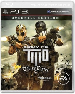 Диск Army of TWO: The Devil's Cartel - Overkill Edition [PS3]