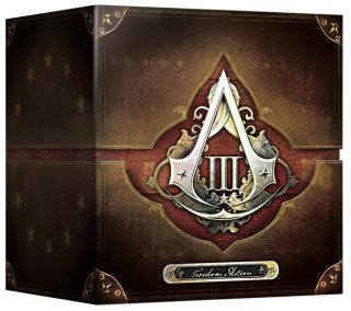 Диск Assassin's Creed III (3) Freedom Edition [PC]
