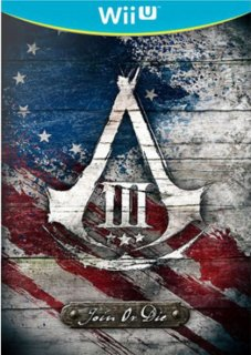 Диск Assassin's Creed III (3) Join or Die Edition (Б/У) [Wii U]