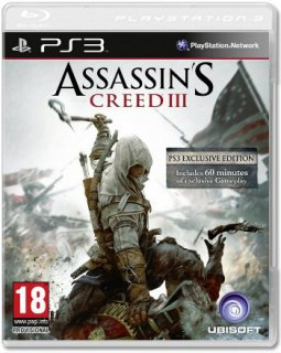 Диск Assassin's Creed III (3) (Б/У) [PS3]