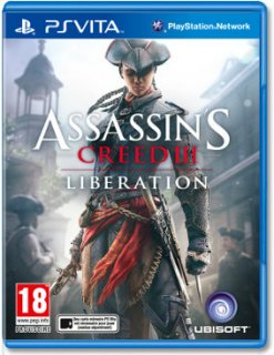 Диск Assassin's Creed 3(III) Освобождение [PS Vita]