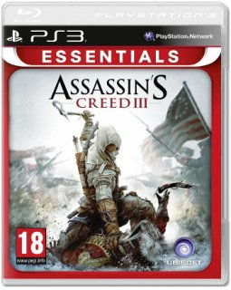 Диск Assassin's Creed III (Б/У) (без обложки) [PS3]