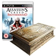 Диск Assassin's Creed Братство Крови - Limited Codex Edition [PS3]