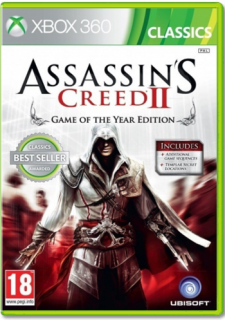 Диск Assassin's Creed 2 Game of the Year [X360]