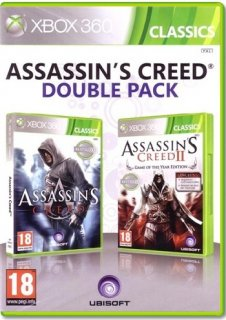Диск Assassin's Creed Double Pack [X360]