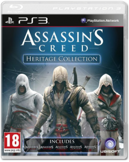 Диск Assassin's Creed Heritage Collection (Б/У) [PS3]