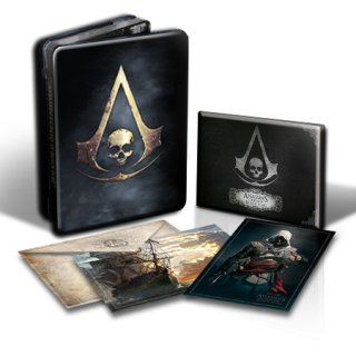 Диск Assassin's Creed IV: Black Flag - Skull Edition [Xbox One]