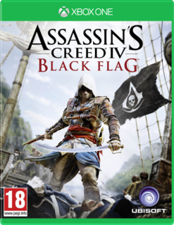 Диск Assassin's Creed IV: Black Flag [Xbox One]