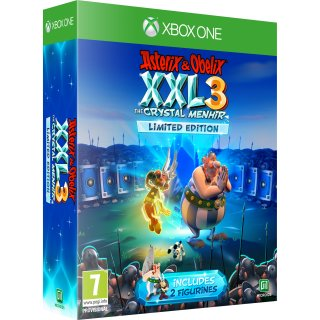 Диск Asterix & Obelix XXL 3: The Crystal Menhir - Limited Edition (Б/У) [Xbox One]