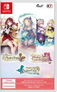 Диск Atelier Mysterious Trilogy Deluxe Pack [NSwitch]