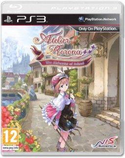 Диск Atelier Rorona The Alchemists Of Arland [PS3]