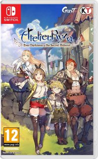 Диск Atelier Ryza: Ever Darkness and the Secret Hideout [NSwitch]