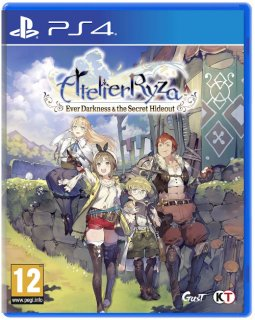 Диск Atelier Ryza: Ever Darkness and the Secret Hideout [PS4]