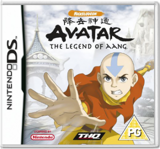 Диск Avatar: The Legend of Aang [DS]