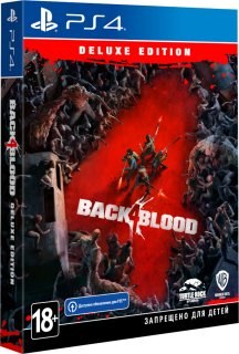 Диск Back 4 Blood - Deluxe Edition [PS4]