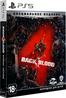 Диск Back 4 Blood - Special Edition [PS5]
