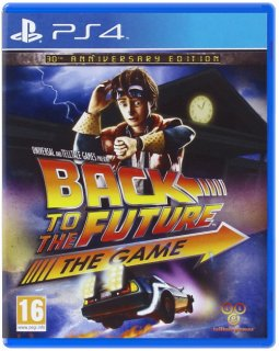 Диск Back to the Future: The Game - 30th Anniversary Edition (Б/У) [PS4]