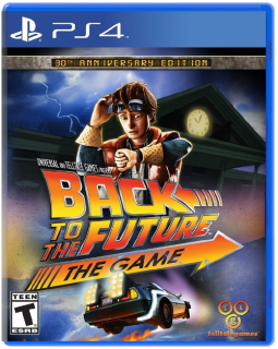 Диск Back to the Future: The Game - 30th Anniversary Edition (US) (Б/У) [PS4]