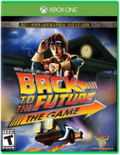 Диск Back to the Future: The Game - 30th Anniversary Edition (US) [Xbox One]