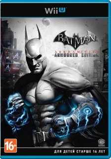 Диск Batman Arkham City Armored Edition (Б/У) [Wii U]