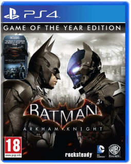 Диск Batman: Рыцарь Аркхема (Arkham Knight) - G.O.T.Y. [PS4]
