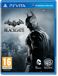 Диск Batman: Arkham Origins Blackgate [PS Vita]