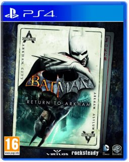 Диск Batman: Return to Arkham (англ. версия) [PS4]