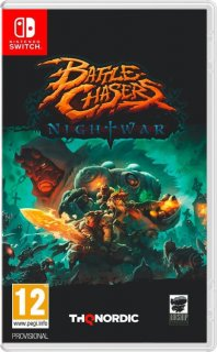 Диск Battle Chasers: Nightwar [NSwitch]