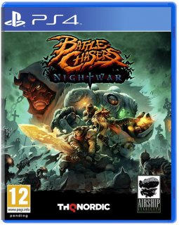 Диск Battle Chasers: Nightwar [PS4]