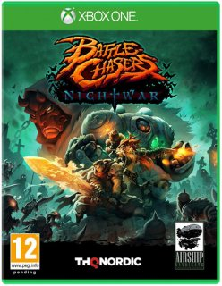 Диск Battle Chasers: Nightwar [Xbox One]