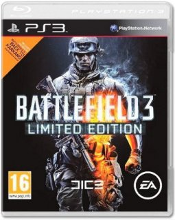 Диск Battlefield 3 Limited edition (Б/У) [PS3]
