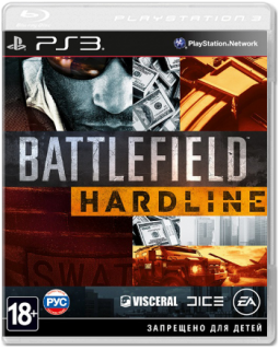 Диск Battlefield Hardline [PS3]