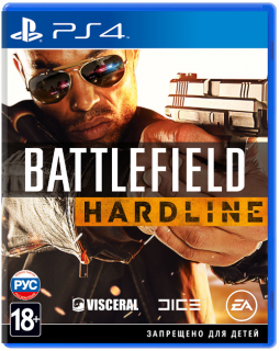 Диск Battlefield Hardline [PS4]