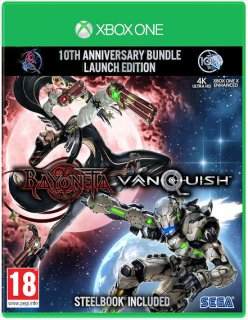 Диск Bayonetta & Vanquish 10th Anniversary Bundle - Launch Edition [Xbox One]