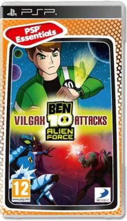 Диск Ben 10 Alien Force: Vilgax Attacks (Б/У) [PSP]