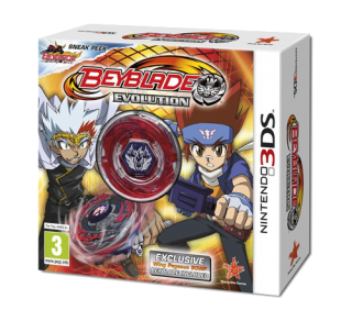 Диск Beyblade: Evolution - Limited Collector's Edition [3DS]