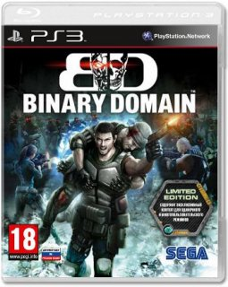 Диск Binary Domain Limited edition (Б/У) [PS3]