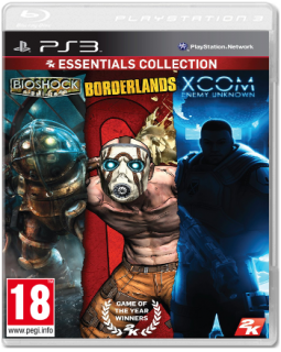 Диск Bioshock + Borderlands + Xcom: Enemy Unknown [PS3]