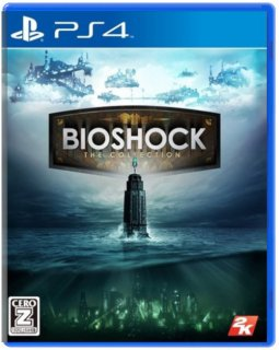 Диск Bioshock The Collection (JP) (Б/У) [PS4]