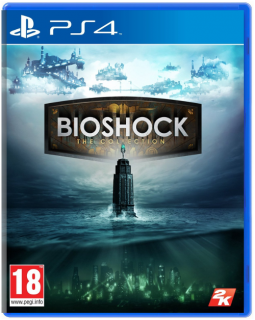 Диск Bioshock The Collection (Б/У) [PS4]
