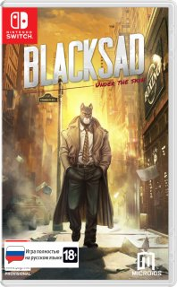 Диск Blacksad: Under The Skin - Limited Edition [NSwitch]