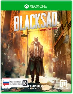 Диск Blacksad: Under The Skin - Limited Edition [Xbox One]