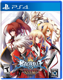 Диск BlazBlue: Chrono Phantasma EXTEND (Б/У) [PS4]