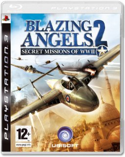 Диск Blazing Angels 2: Secret Missions of WWII (Б/У) [PS3]