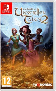 Диск Book of Unwritten Tales 2 (Б/У) [NSwitch]
