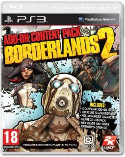 Диск Borderlands 2 Add-On Content Pack [PS3]